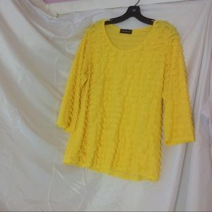 "Attractive blouse. 25"" length"